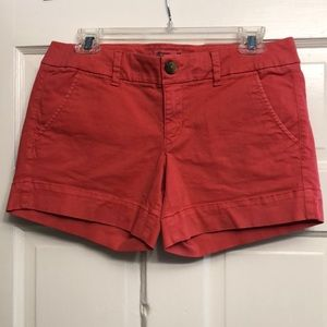 American Eagle coral summer shorts